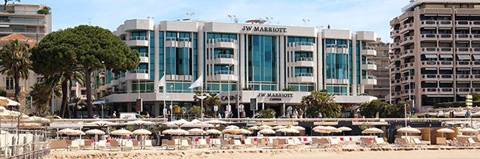 JW Marriott Cannes outside view